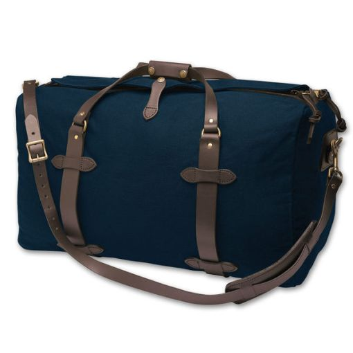 Filson medium duffle  navy