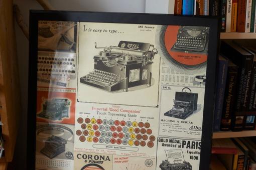 kirjoituskoneen